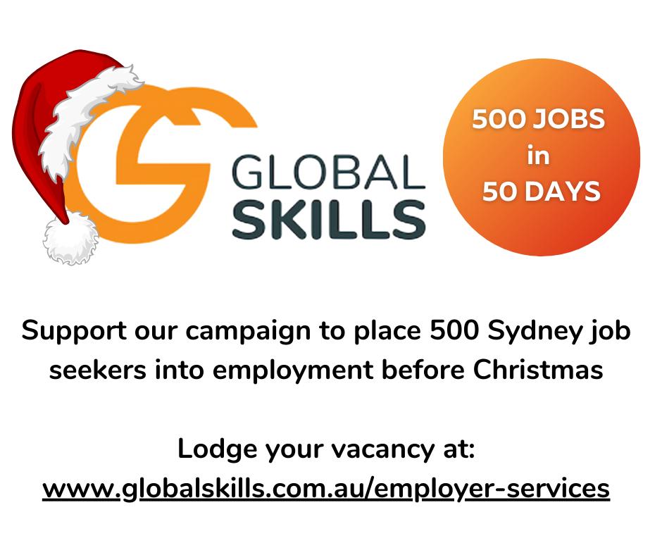 500 jobs in 50 Days